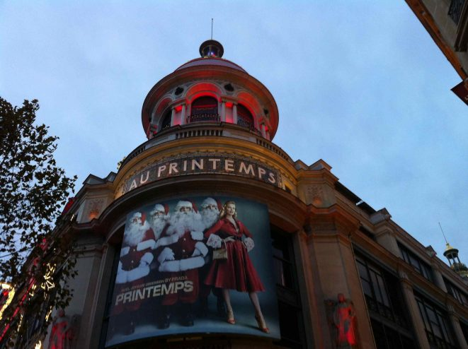 Grands Magasins Paris Printemps