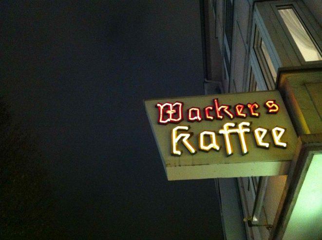 Wackers Kaffee