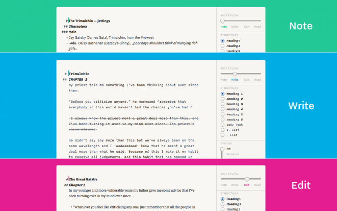 iA Writer Pro Workflow