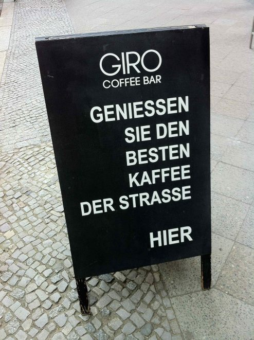 Giro Coffee Bar Berlin