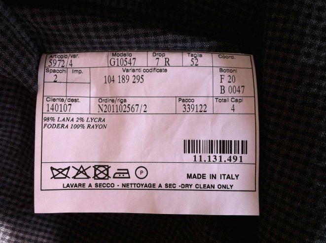 Hermès Fertigung Belvest