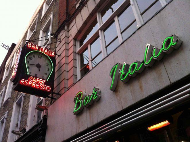 Bar Italia Soho London