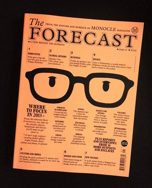 Monocle Forecast