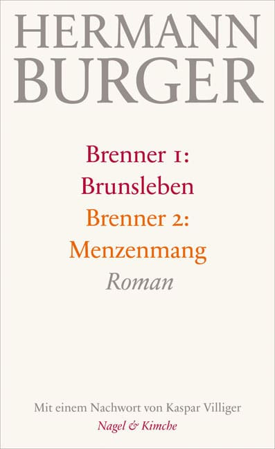 Hermann Burger Brenner