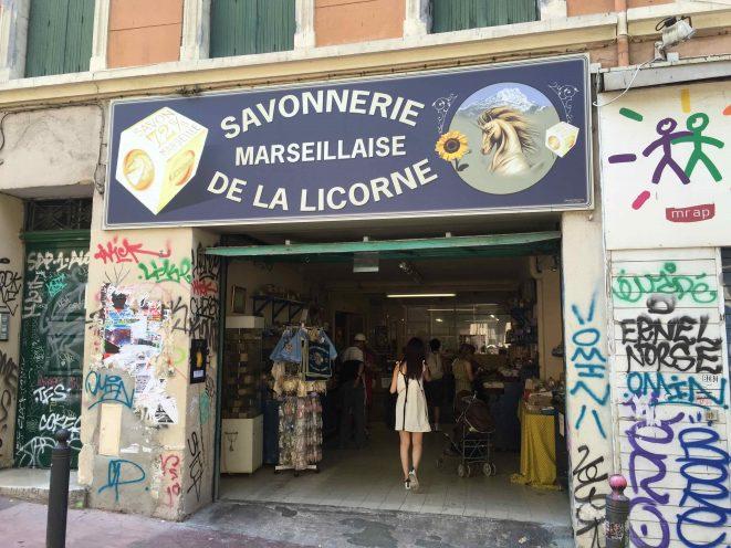 Savonnerie de la Licorne Marseille