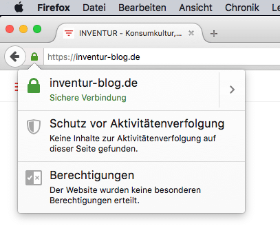 Sicherheit Stufe A: INVENTUR jetzt mit https-Adresse, komplett SSL ...