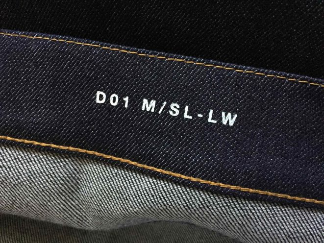 Hedi Slimane Denim Selvage