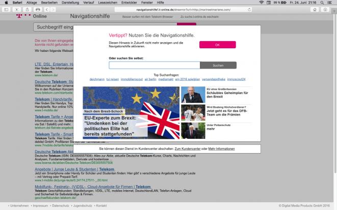 T Online Navigationshilfe Entfernen
