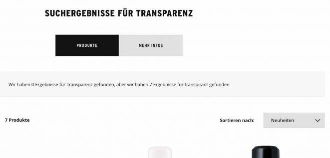 Transparenz der Wertschöpfung