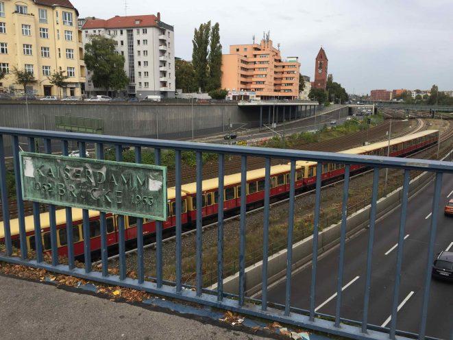 Kaiserdamm Berlin Brücke