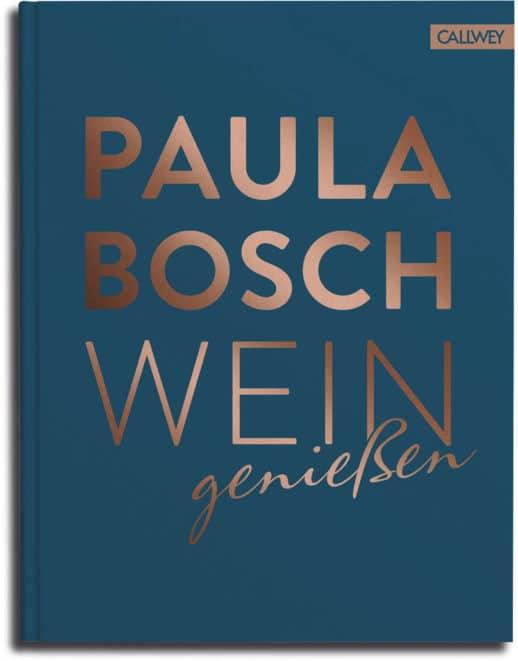 Paula Bosch Wein genießen