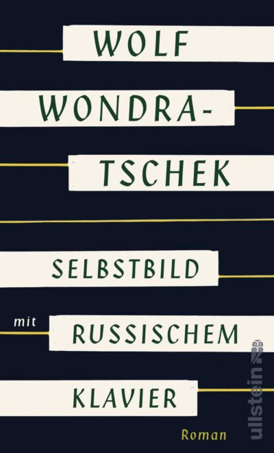 Wolf Wondratschek Selbstbild mit russischem Klavier