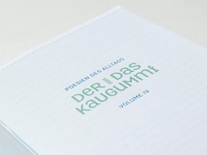 Poesien des Alltags Kaugummi