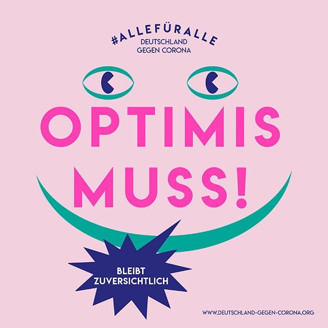Coronavirus Optimismus